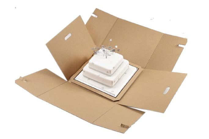 Four Corner Cake Boxes