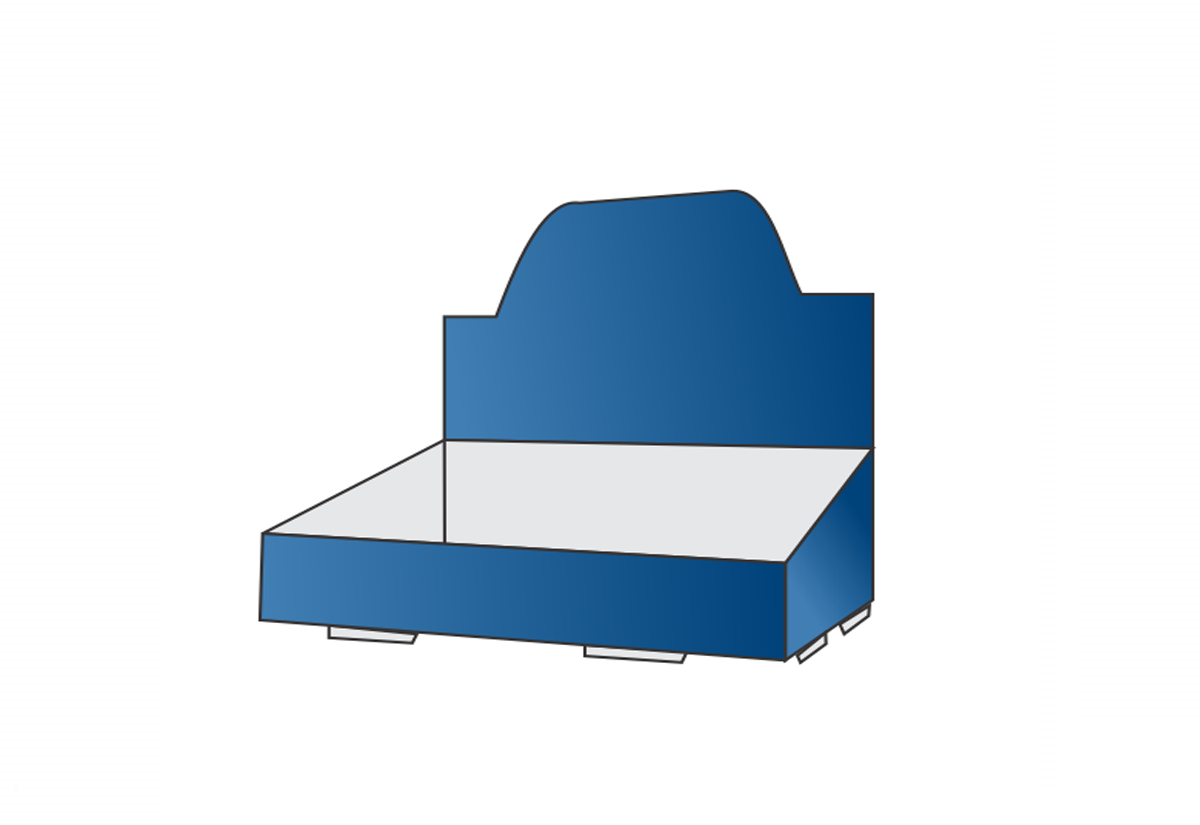 Self-Lock Counter Tray